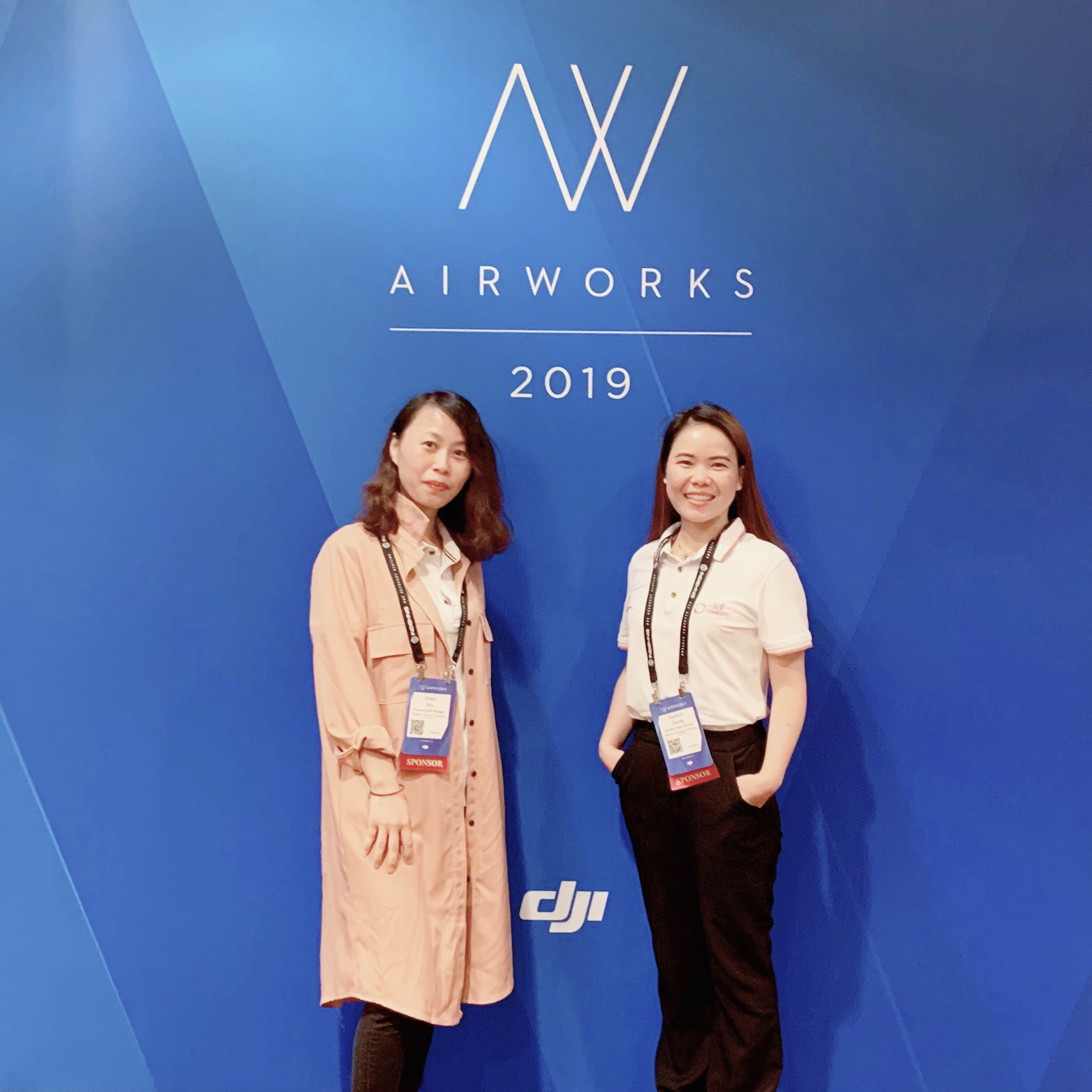 Successfully participated the 4th DJI AirWorks 2019 in LA last week (Sep. 24th~26th).